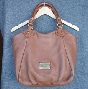 Marc Marc Jacobs Brown Classic Q Fran Leather Bag